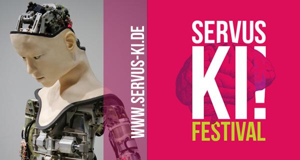 Keyvisual zum Servus-KI-Festival (Class3 Shiftschool)